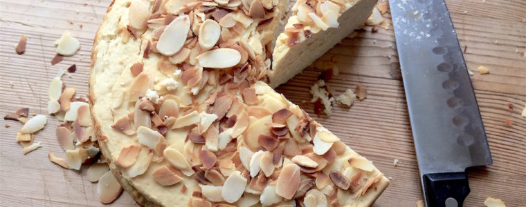 lemon, almond, ricotta cake